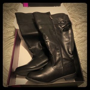 Lane Bryant Tall wide calf boots size 10W